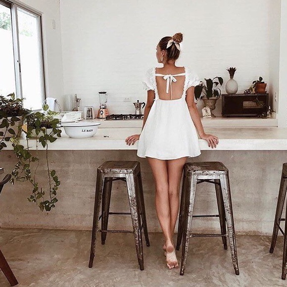 6bdc6d2dcce For Love and Lemons Crema Babydoll Dress